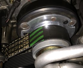 Eurocharged 64.7mm Supercharger Pulley SRT-6