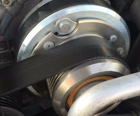 OEM Factory SRT-6 Supercharger Pulley